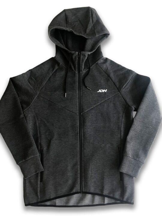 JDH zipper hoodie antraciet