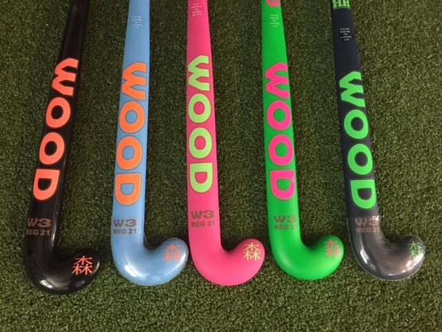 Wood W3 60% carbon hockeystick