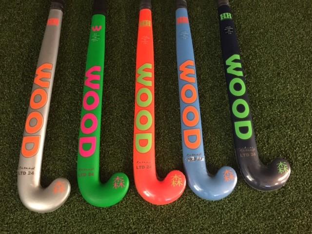 Wood Katana 93% carbon hockeystick