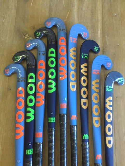 Wood W2 70% carbon hockeystick