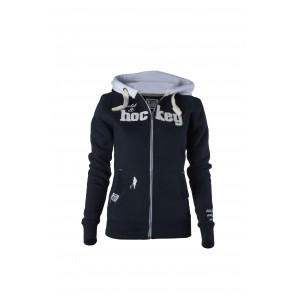 Field and Hockey zipper Navy / white
