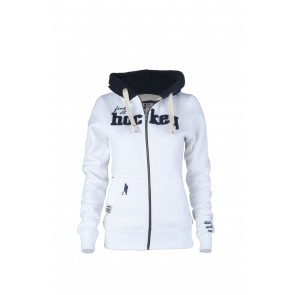 Field and Hockey zipper white / navy