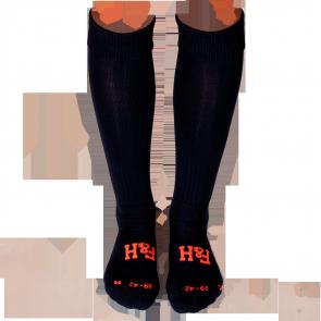 Field and Hockey sokken Navy / oranje