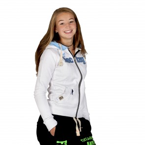 Field and Hockey zipper tightfit White / Icebleu