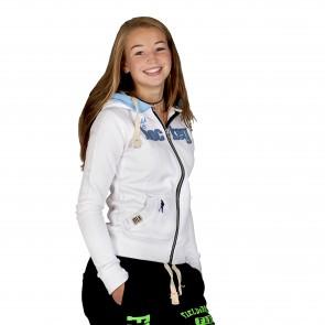 Field and Hockey zipper tightfit White / Icebleu