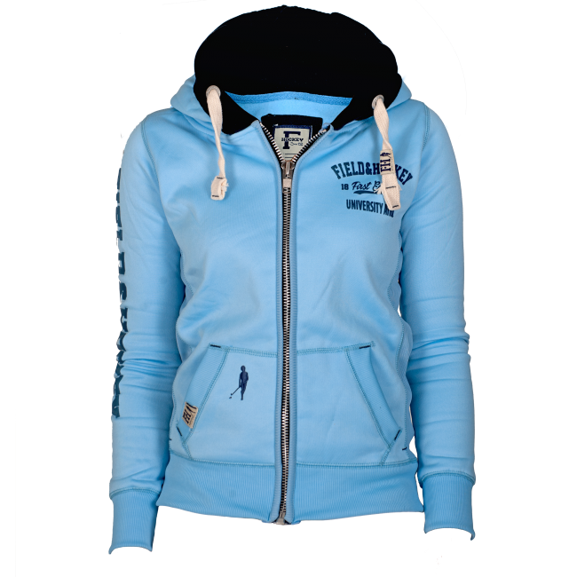 Field and Hockey zipper Ice Blue