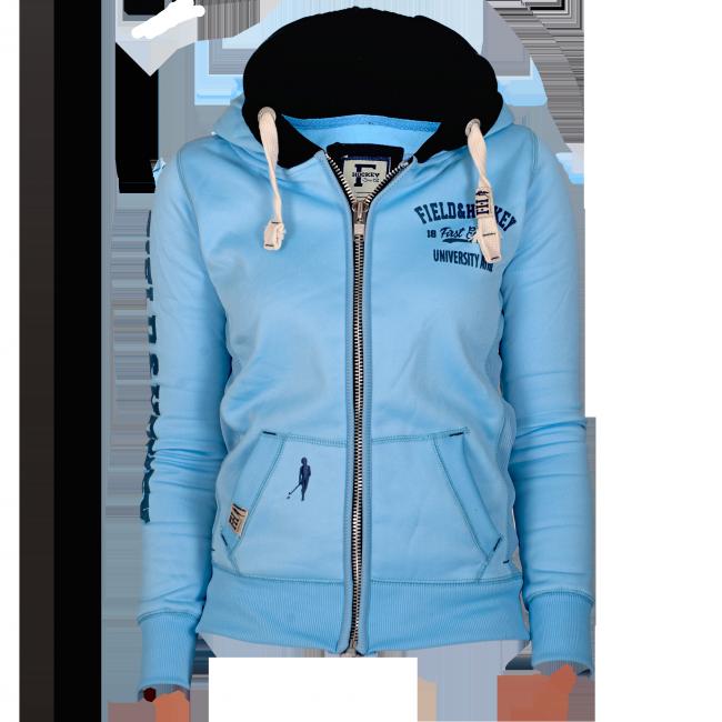 Field and Hockey zipper Ice Blue