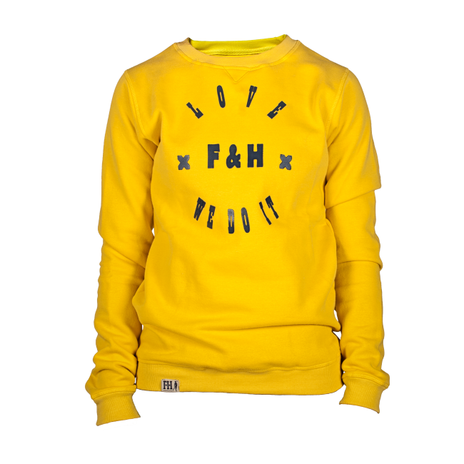 Field and Hockey sweater Sunshine