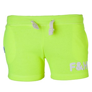 Field and Hockey short Ladies Geel