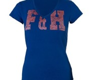 Field and Hockey T- shirt blauw Lady