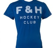 Field and Hockey T-shirt blauw Jongens