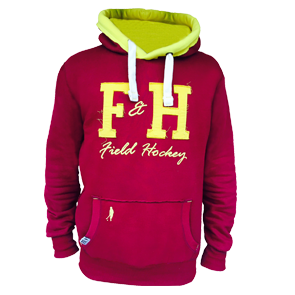 Field and Hockey hoodie bordeau