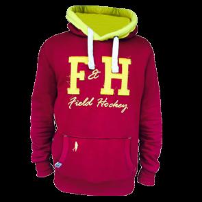 Field and Hockey hoodie bordeau