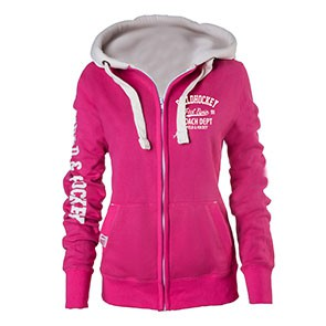 Field and Hockey zipper Roze