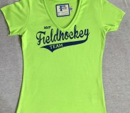 Field and Hockey T-shirt groen dames