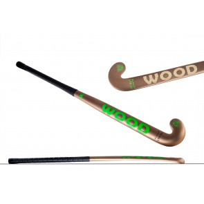 Wood drag 85% carbon hockeystick