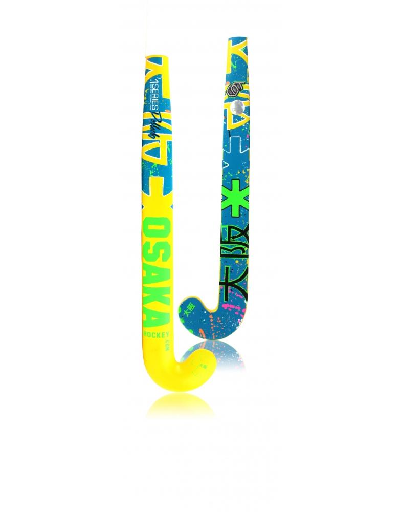 Osaka pollock blue / yellow hockeystick jr
