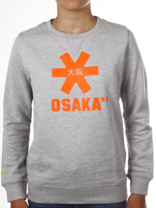 Osaka sweater kids Grey / Oranje