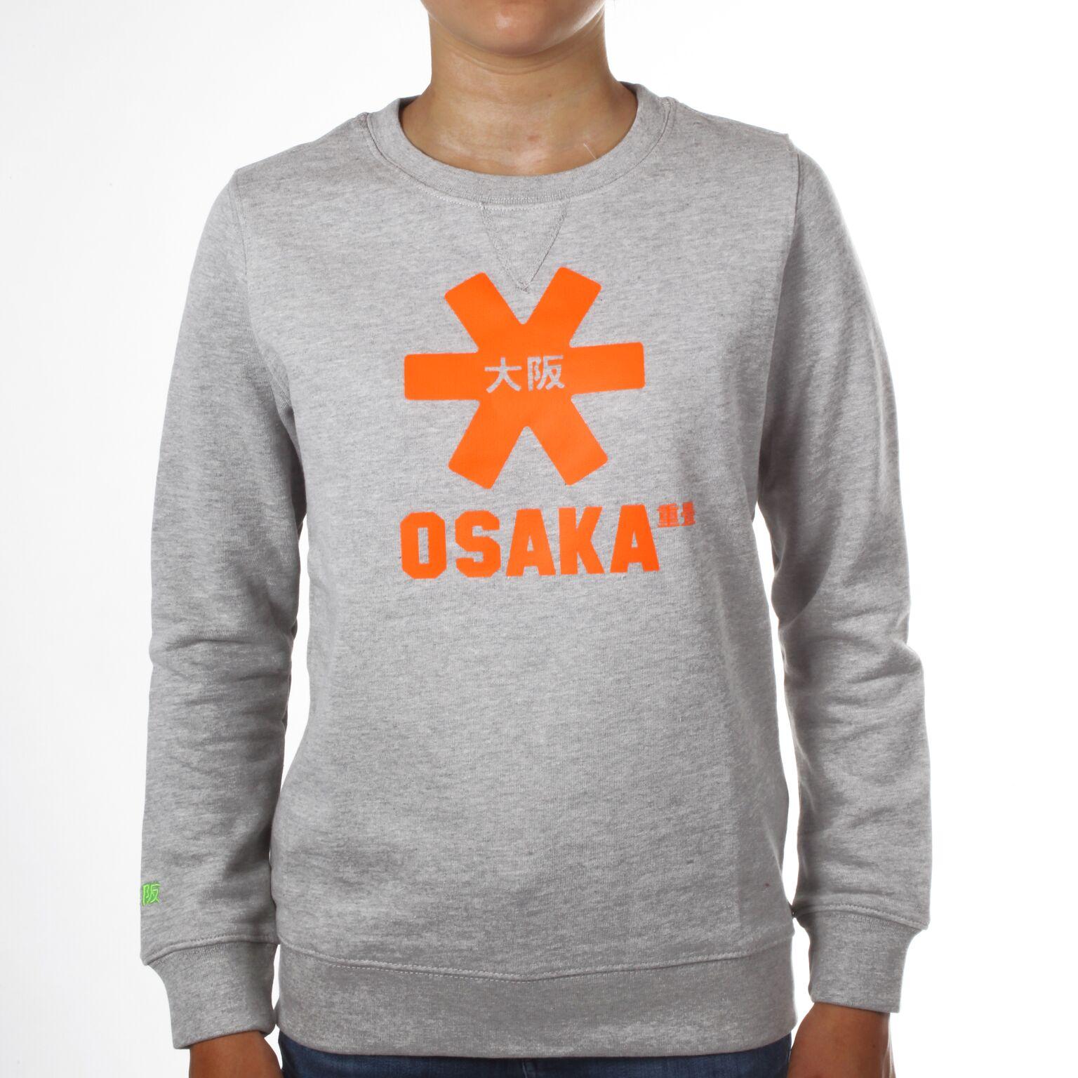 Osaka sweater kids Grey / Oranje