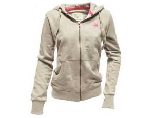 "Osaka zip hoodie ""basic"" grey dames"