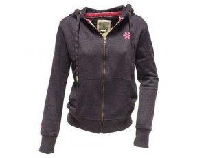 """Osaka zip hoodie """"basic"""" Navy Melange dames"""