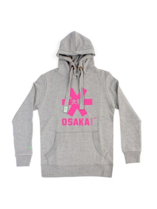 Osaka hoodie kids Grey / roze
