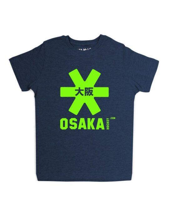 Osaka T-shirt MEN Navy - groen