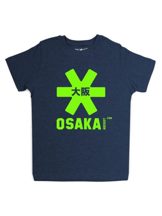 Osaka T-shirt MEN Navy - groen