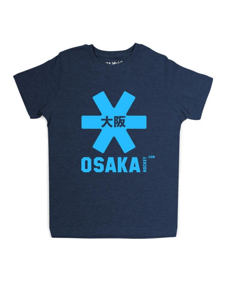 Osaka T-shirt MEN Navy - blauw
