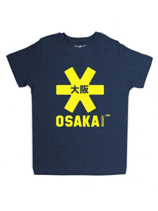 Osaka T-shirt MEN Navy - geel