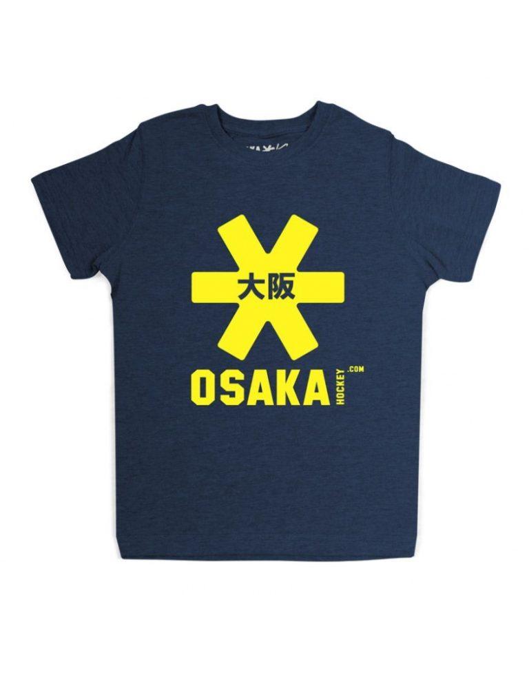 Osaka T-shirt MEN Navy - geel