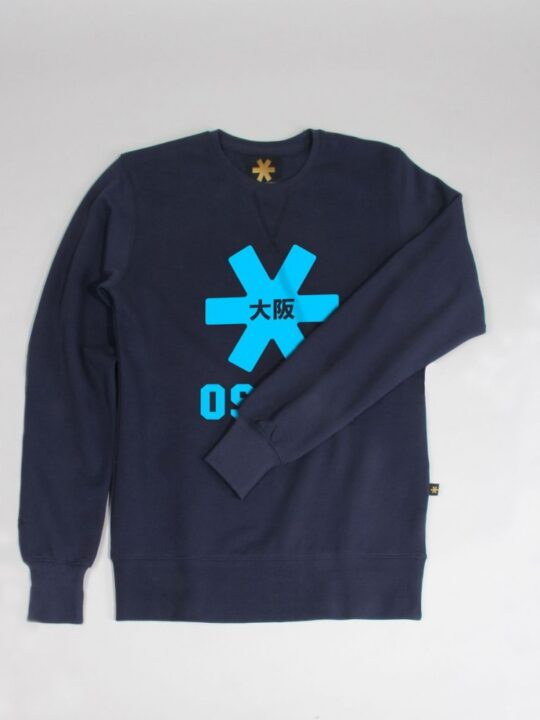 Osaka basic sweater heren Navy / blauw