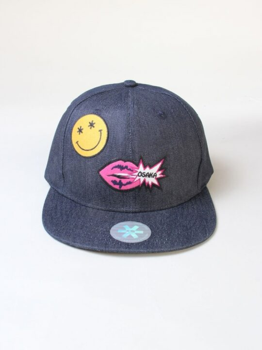 Osaka cap Snapback Osaka lips smiley