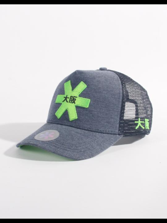 Osaka cap Trucker Navy / groen