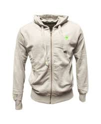 "Osaka zip hoodie ""Basic"" heren grijs"