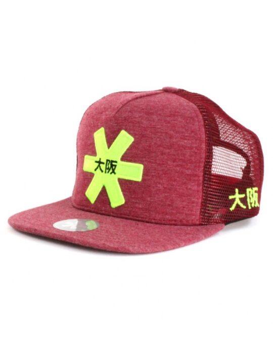 Osaka cap Trucker Rood / groen