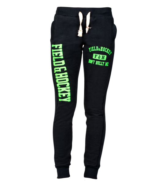 Field and Hockey jogging DAMES navy / lime