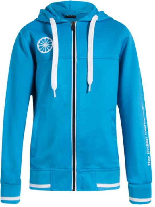 Indian Maharadja Hooded Zipper KIDS Fel Blauw