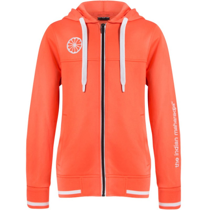 Indian Maharadja Hooded Zipper KIDS Coral
