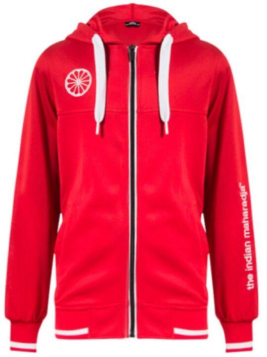 Indian Maharadja Hooded Zipper KIDS Red