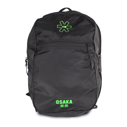 Osaka pack away backpack zwart