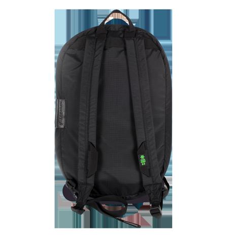 Osaka pack away backpack zwart