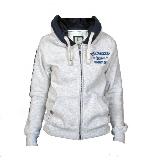 Field and Hockey zipper tightfit Grijs/ navy