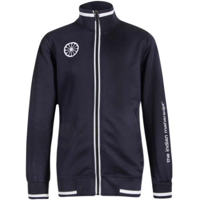 maharadja navy zipper jacket