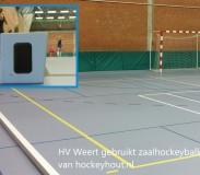 houten zaalhockeybalken