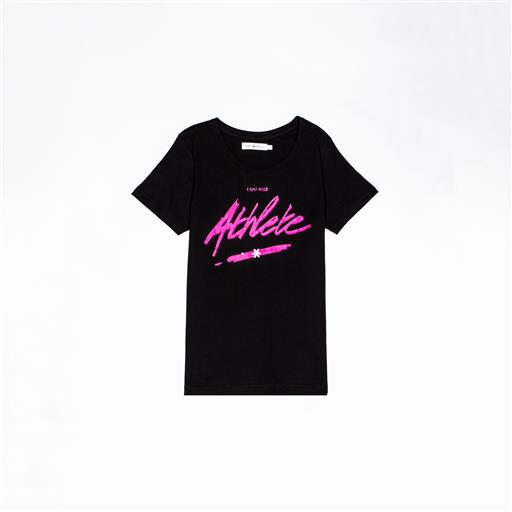 Osaka T-shirt WOMEN Athlete zwart
