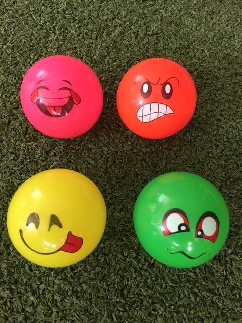 Hockeyballen Emoji SOFT Balls