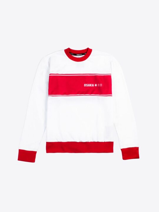 Osaka sweater kids Retro rood