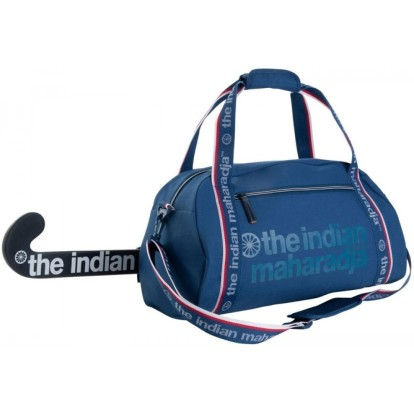 Indian Maharadja hockey sporttas Blauw