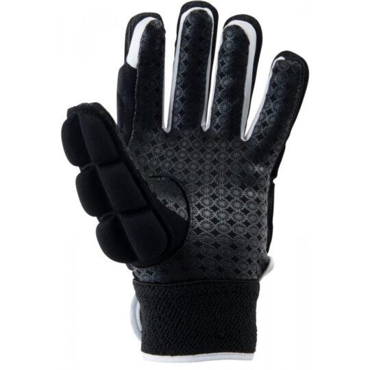 The Indian Maharadja handschoen, FULL FINGER (links) Zwart